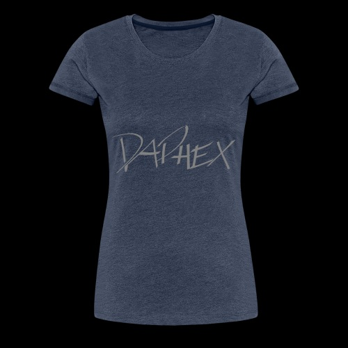 DAPHEX gray - Frauen Premium T-Shirt