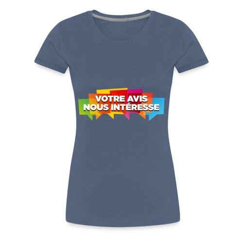 DocZslogan - T-shirt Premium Femme