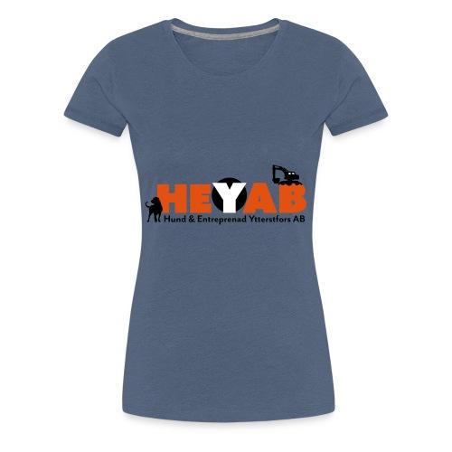 HEYAB logo - Premium-T-shirt dam