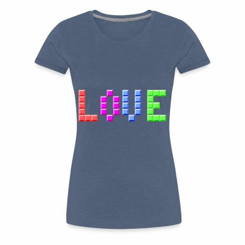 Love Puzzle - Frauen Premium T-Shirt