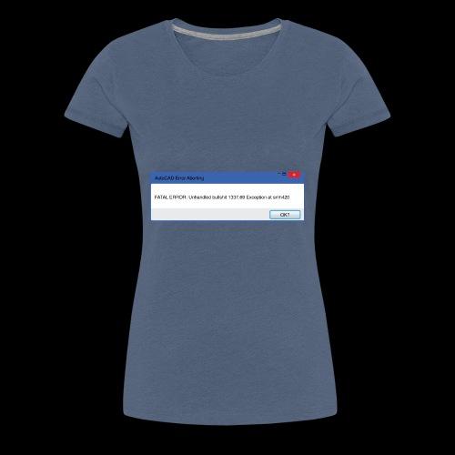 Fatal Error - Premium-T-shirt dam