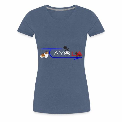 Tayola White - T-shirt Premium Femme