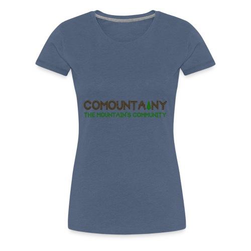 COMOUNTAINY - T-shirt Premium Femme