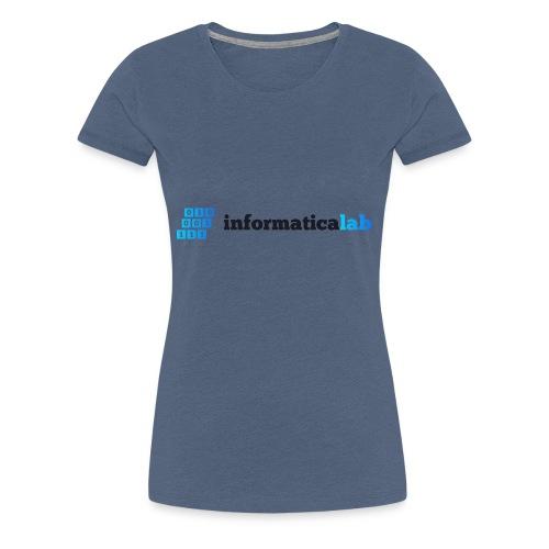 InformaticaLab logo for white background - Maglietta Premium da donna