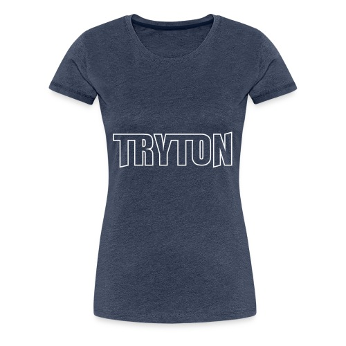TRYT0N DJ BANNER - T-shirt Premium Femme