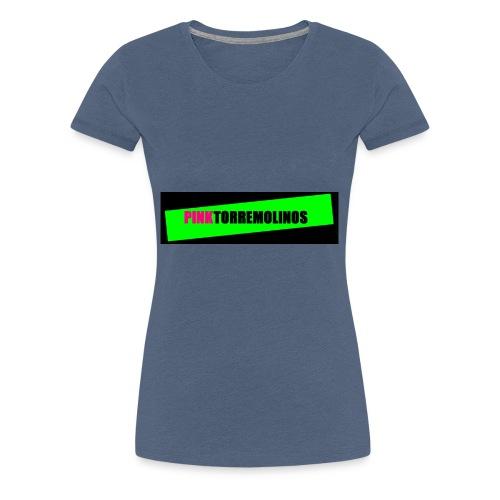 pinklogo - Vrouwen Premium T-shirt