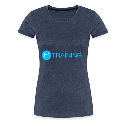 h+ training logo - Frauen Premium T-Shirt