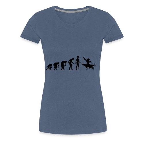 Shrimp Cowboy - Der Shrimpreiter - Frauen Premium T-Shirt