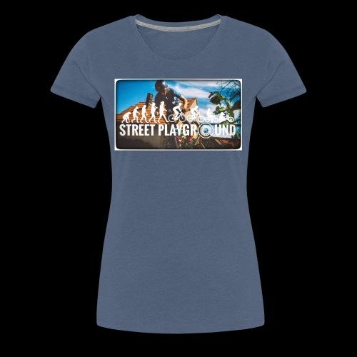 STREET PLAYGROUND - Frauen Premium T-Shirt