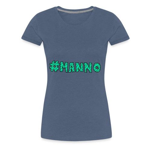 #manno-Schriftzug - Frauen Premium T-Shirt