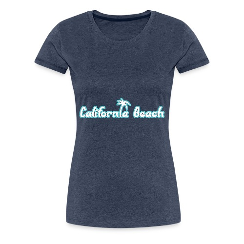 California Beach - Premium-T-shirt dam