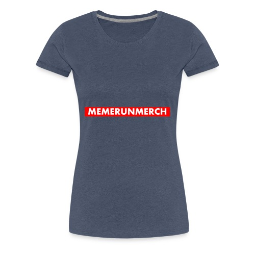 memrunmerch logo - Women's Premium T-Shirt