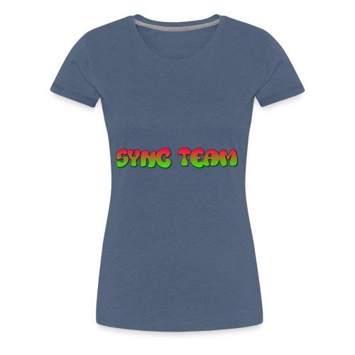vêtement avec text SYNC TEAM - T-shirt Premium Femme