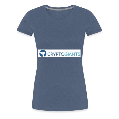 CryptoGiants Logo - Frauen Premium T-Shirt