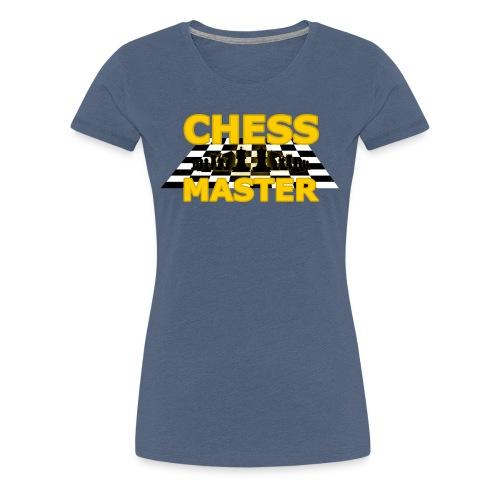 Chess Master - Black Version - By SBDesigns - Women's Premium T-Shirt