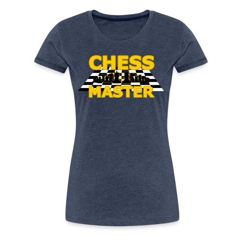 Chess Master - Black Version - By SBDesigns - Women's Premium T-Shirt