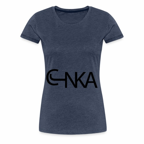 CJNKA H Noir - T-shirt Premium Femme