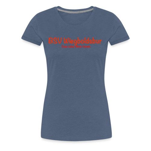 BSV Wiegboldsbur Eine Liebe Mein Verein - Frauen Premium T-Shirt