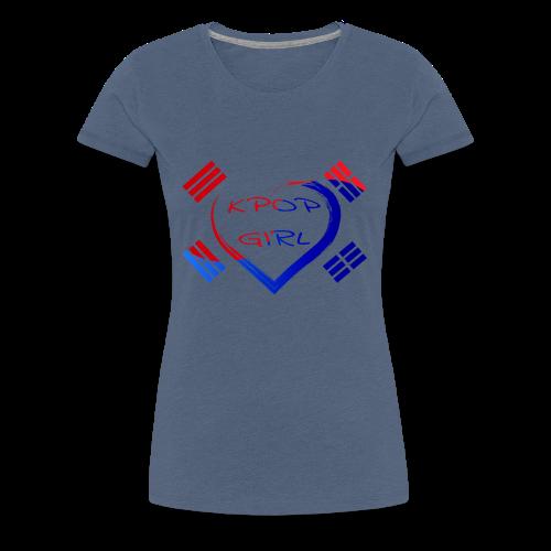 Kpop Girl Seoul Namsan Tower Korea Shirt - Frauen Premium T-Shirt