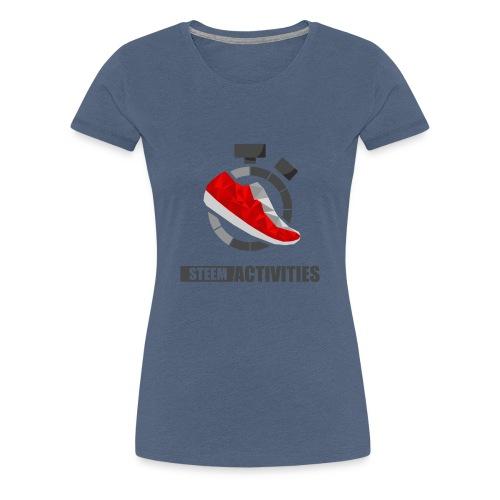 Steemactivities - T-shirt Premium Femme
