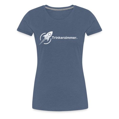 Trinkerzimmer white-line - Frauen Premium T-Shirt