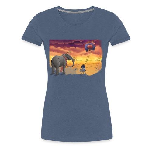 Savanna - Frauen Premium T-Shirt