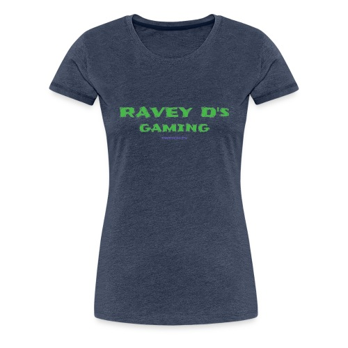 Ravey D's Gaming - Women's Premium T-Shirt