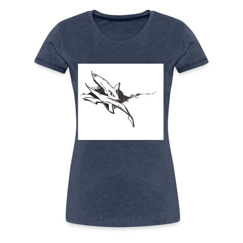 Buchstabe E - Frauen Premium T-Shirt