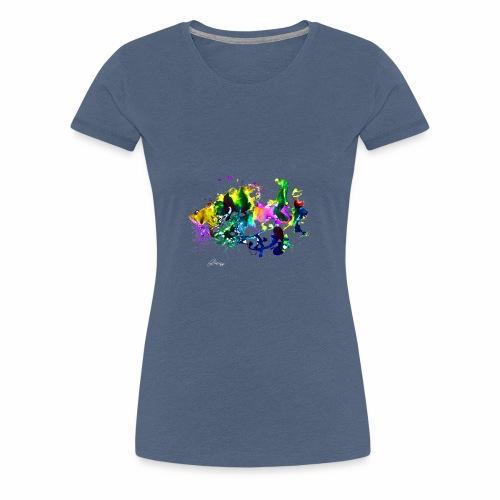 Fisch - Frauen Premium T-Shirt