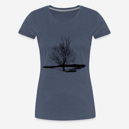 Tree #001 - Women's Premium T-Shirt