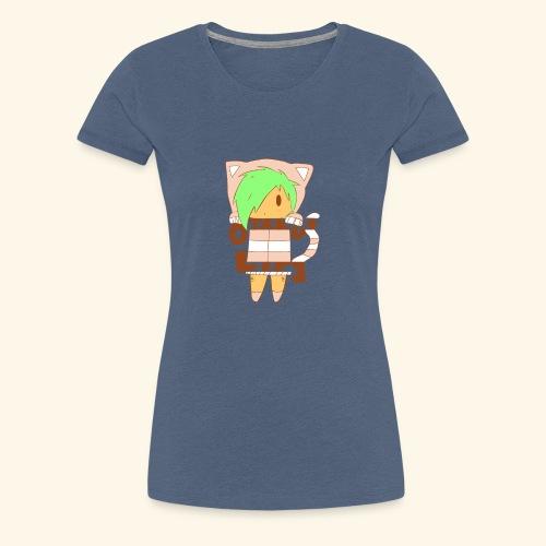 Chibi Otaku - Rosa [Mädchen Version] - Frauen Premium T-Shirt
