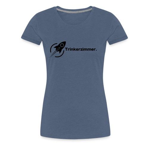 Trinkerzimmer black-Line - Frauen Premium T-Shirt