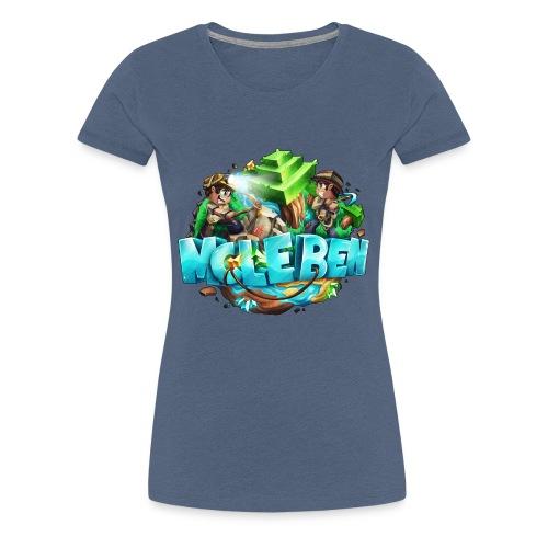 Großes Logo - Frauen Premium T-Shirt