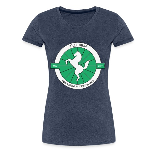 7e lustrum der Ingenium Cabo Bianc - Vrouwen Premium T-shirt