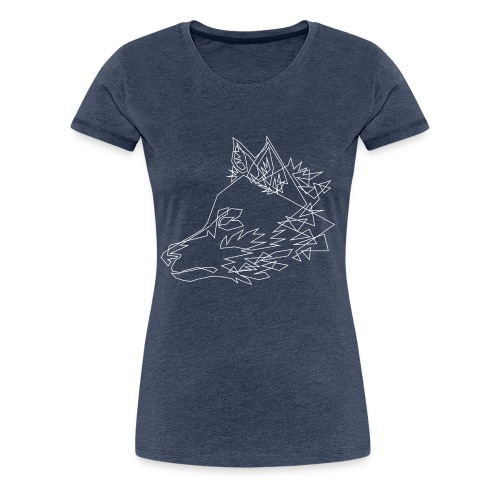 Graphic Wolf - Vrouwen Premium T-shirt