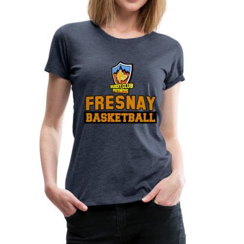 Fresnay basketball contrasté - T-shirt Premium Femme