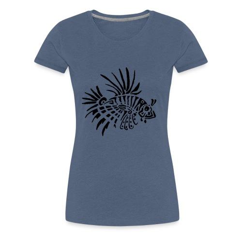 poisson lion - tattoo - T-shirt Premium Femme