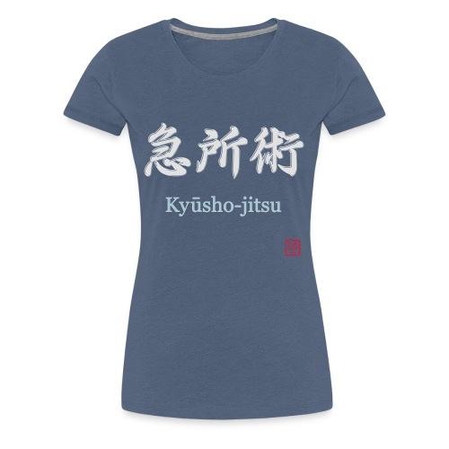 kyusho jitsu for black hoodies - Frauen Premium T-Shirt