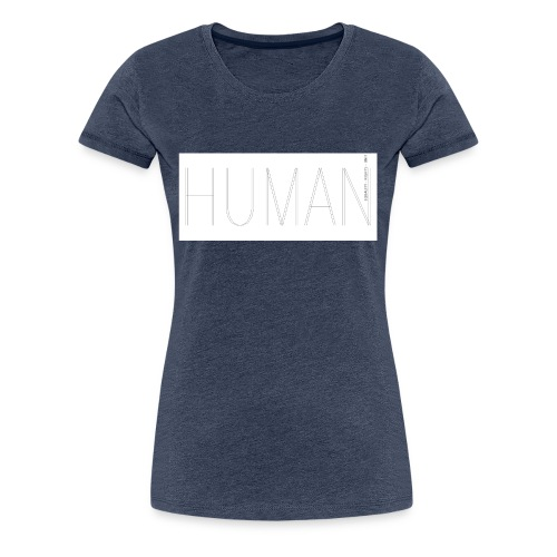 Human Collection 1.0 - Premium-T-shirt dam