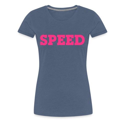 speed - Frauen Premium T-Shirt