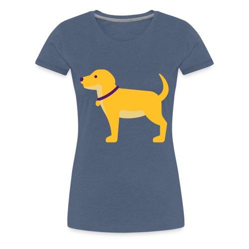 Hund Halsband Süß - Frauen Premium T-Shirt