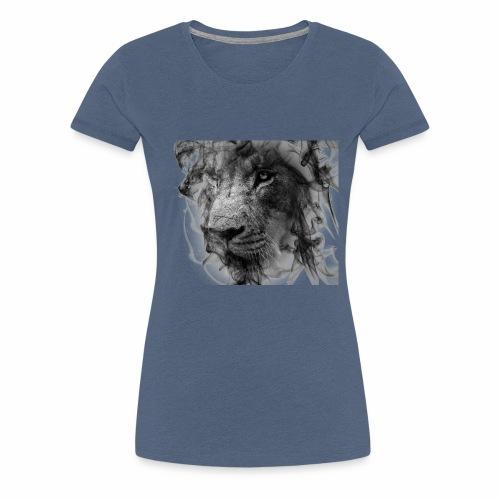 smokeLion - Frauen Premium T-Shirt