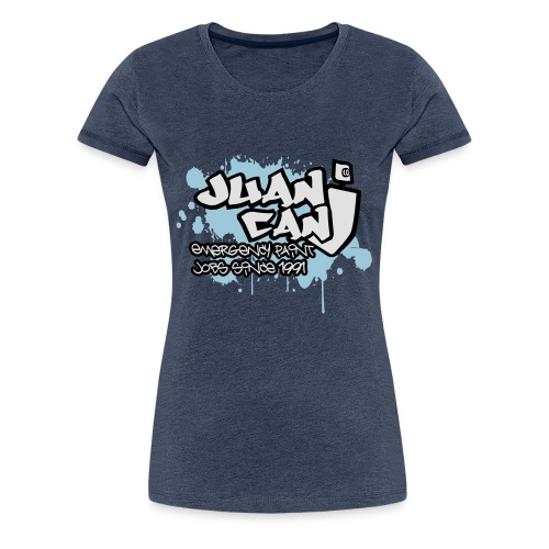 Juan can logo for spreadshirt - Women's Premium T-Shirt