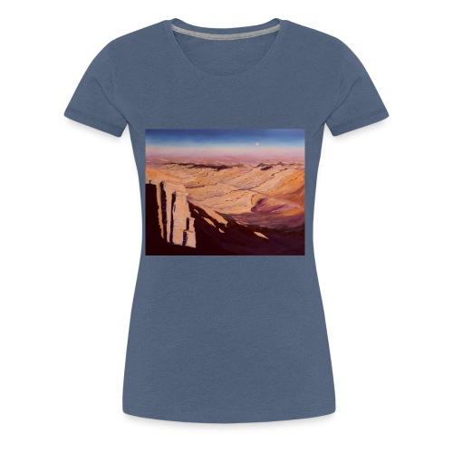 Negev Wüste in Israel - Frauen Premium T-Shirt