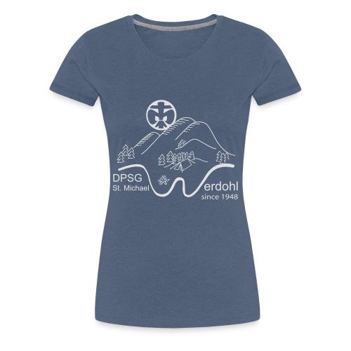 Logo Pulli Jubi Sw - Frauen Premium T-Shirt