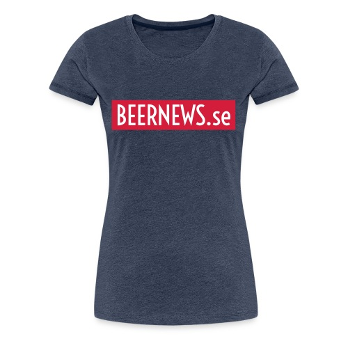 Beernews - Premium-T-shirt dam