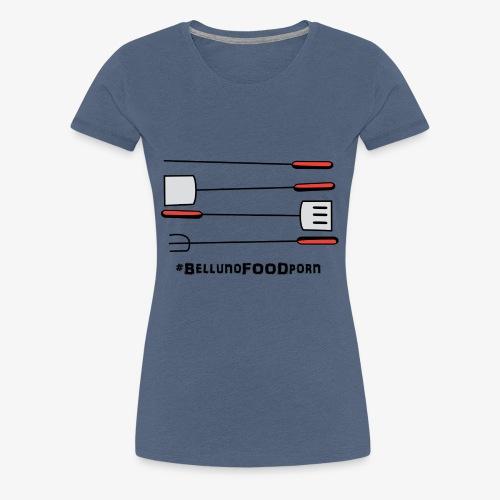BBQ Belluno - Maglietta Premium da donna