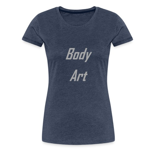 Body Art - Maglietta Premium da donna