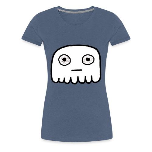 GhostCloth Geist mit roten Augen - Frauen Premium T-Shirt