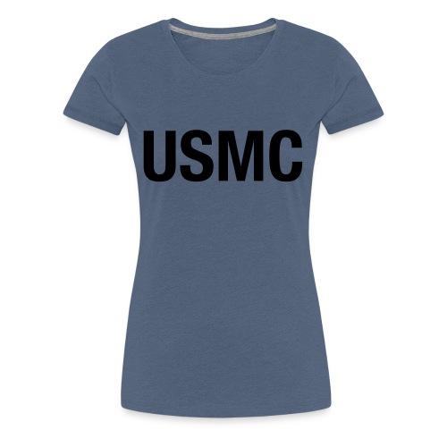 USMC - Women's Premium T-Shirt